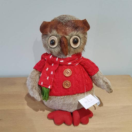 Christmas Owl Large 54337
