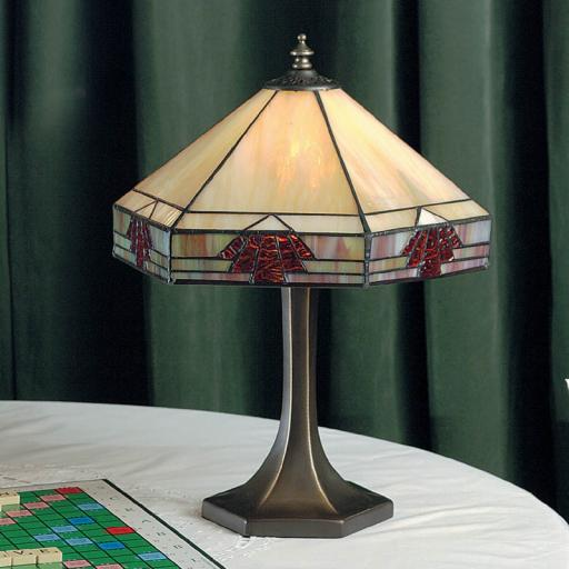 Nevada Small Table Lamp - Interiors 1900 Tiffany Lighting