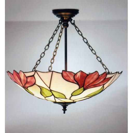 Botanica 3 Chain Pendant - Interiors 1900 Tiffany Light