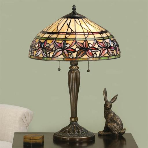 Ashtead Table Lamp - Interiors 1900 Tiffany Light