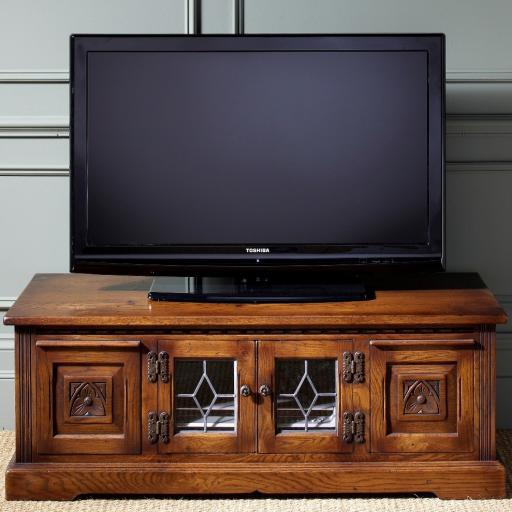 OC2755 TV/DVD Cabinet - Old Charm Furniture - Wood Bros