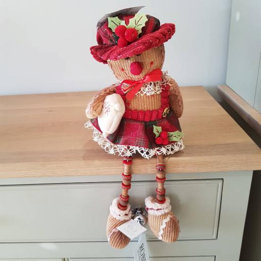 Sitting Gingerbread Woman 54288 - Enchante