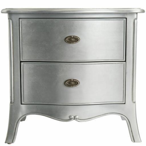 Sophia Large Bedside Cabinet - Winsor Furniture WB2BWS