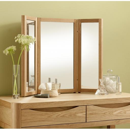 Stockholm Triple Mirror - Winsor Bedroom Furniture WN26