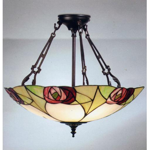 Ingram Large Inverted Pendant - Interiors 1900 Tiffany Lighting