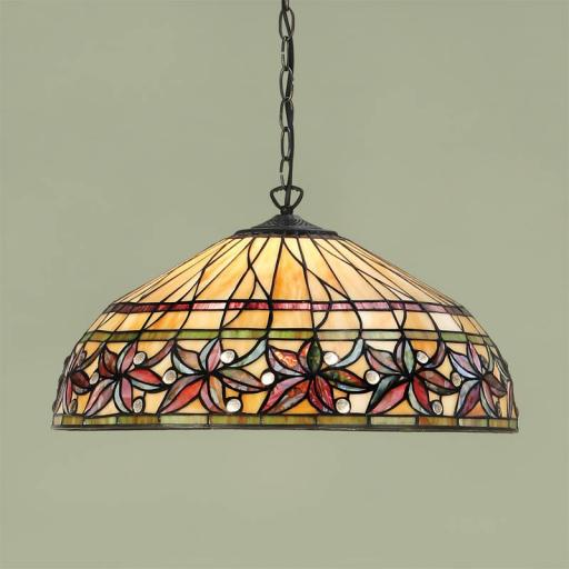 Ashtead Pendant - Interiors 1900 Tiffany Light