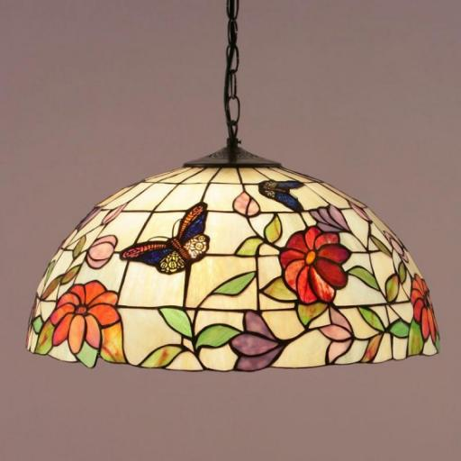 Butterfly Large Pendant - Interiors 1900 Tiffany Light