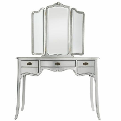 Sophia Dressing Table with Mirror - Winsor Furniture WB8WS