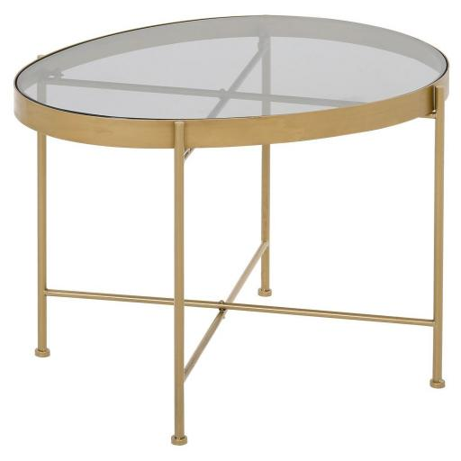 Austin Table Large (Grey Glass) - TF030 - Mindy Brownes