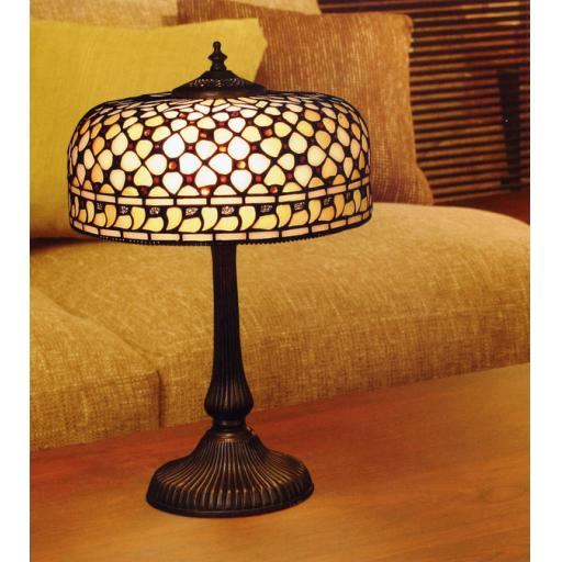 Mille Feux Medium Table Lamp - Interiors 1900 Tiffany Lighting