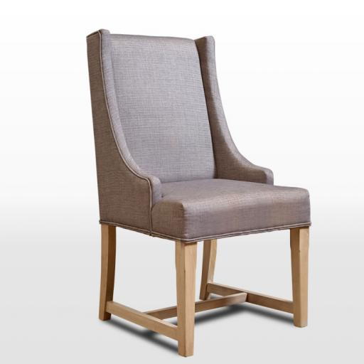 3063 Upholstered Dining Chair - Old Charm Furniture - Wood Bros