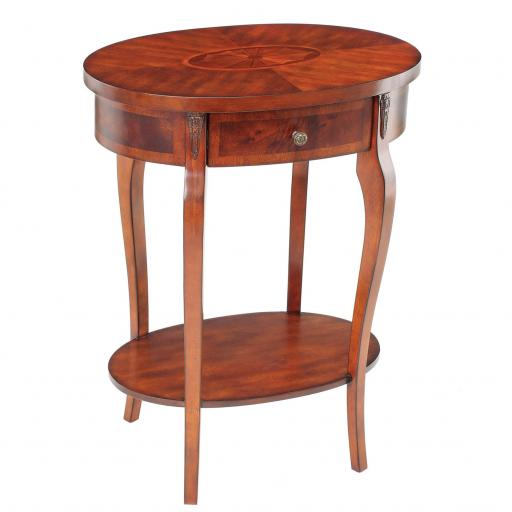 Oval End Table PUT012 - Mindy-Brownes