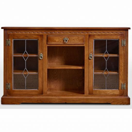 2793 Low Bookcase - Old Charm Furniture - Wood Bros