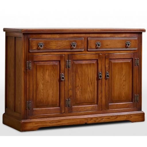 OC2845 Three Door Sideboard - Old Charm Furniture - Wood Bros