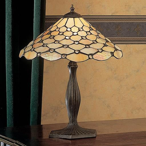 Pearl Medium Table Lamp - Interiors 1900 Tiffany Lighting