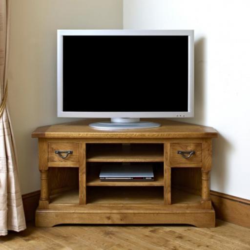 Chatsworth Corner TV Cabinet CT2884 - Old Charm Furniture