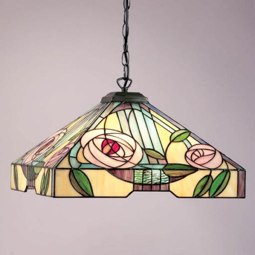 Willow Large Pendant - Interiors 1900 Tiffany Light
