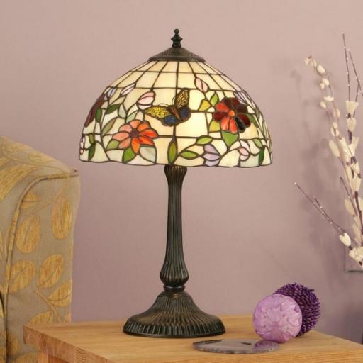 Butterfly Small Table Lamp - Interiors 1900 Tiffany Light