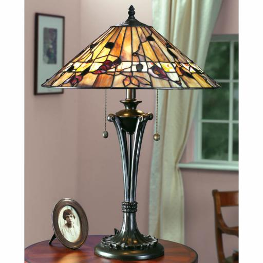 Bernwood Large Table Lamp - Interiors 1900 Tiffany Light