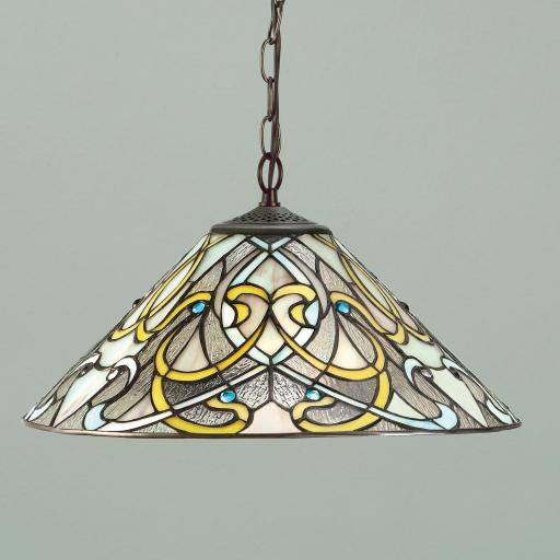 Dauphine Pendant - Interiors 1900 Tiffany Lighting