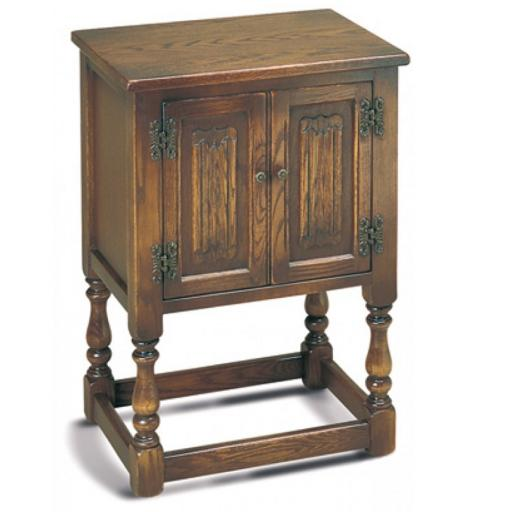 1582 Pedestal Cabinet - Old Charm Furniture - Wood Bros