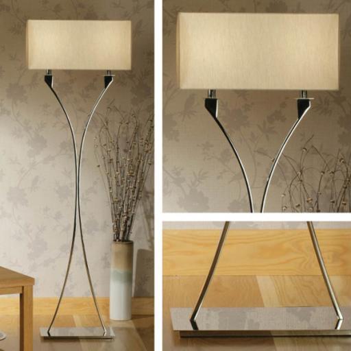 Vienna Floor Lamp - MC1FBS - New Classics Interiors 1900 Lighting