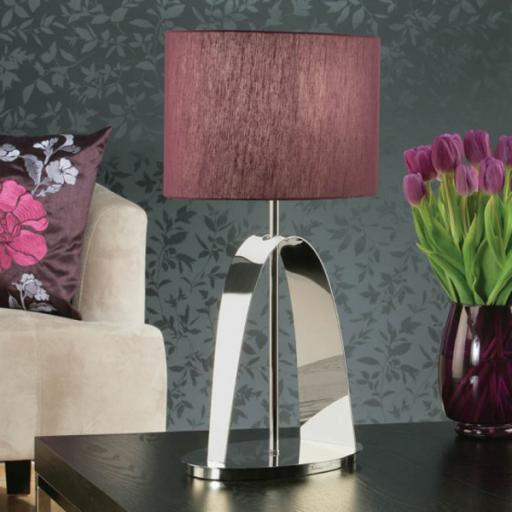 Arc Table Lamp Purple - New Classics Interiors 1900 Lighting