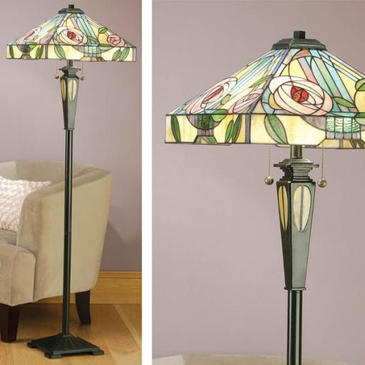 Interiors 1900 Willow Floor Lamp - Tiffany Light