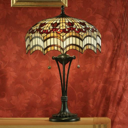 Vesta Large Table Lamp - Interiors 1900 Tiffany Lighting