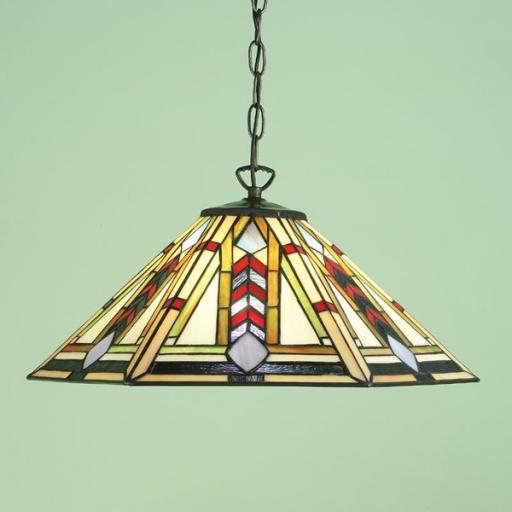 Santiago Pendant - Interiors 1900 Tiffany Light