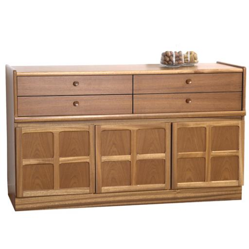 Nathan Furniture 1504 Buffet / Sideboard - Classic Teak Range