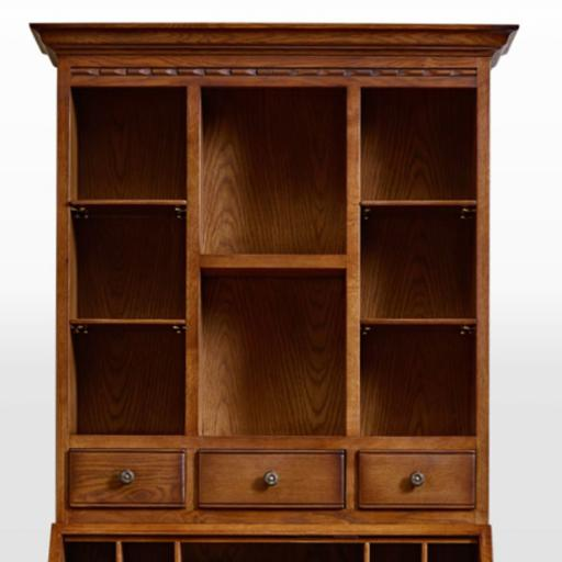 OC2806 Bureau Display Top - Old Charm Furniture - Wood Bros