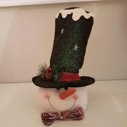Xmas Head Snowman 54311 - Enchante
