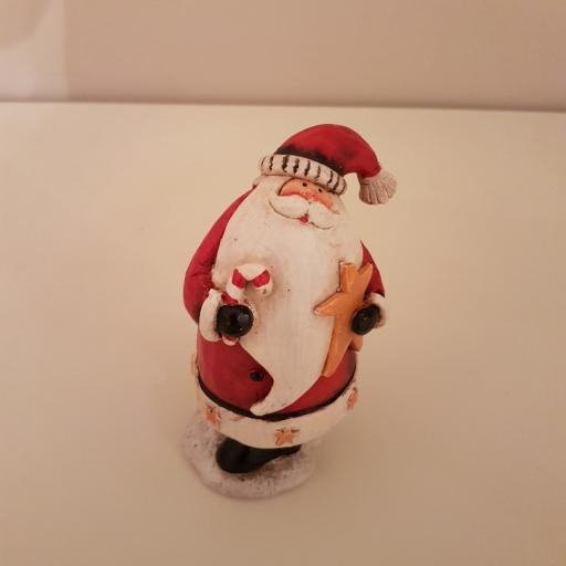 Xmas Figurine Santa Small 54552 - Enchante