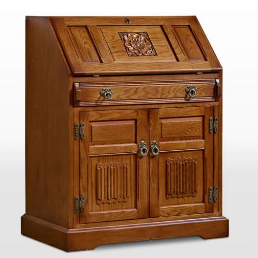 OC2808 Rose Bureau - Old Charm Furniture - Wood Bros