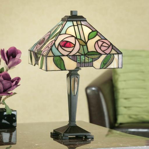 Willow Small Table Lamp - Interiors 1900 Tiffany Light