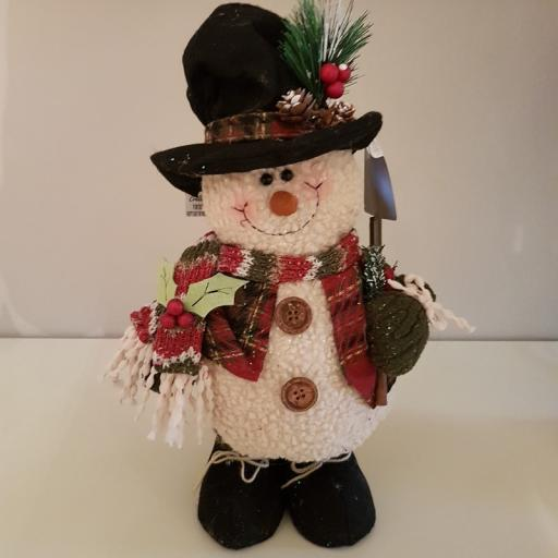 Country Snowman Small 54300 - Enchante