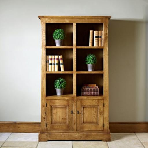 Chatsworth Bookcase with doors CT2882 - Old Charm Furniture
