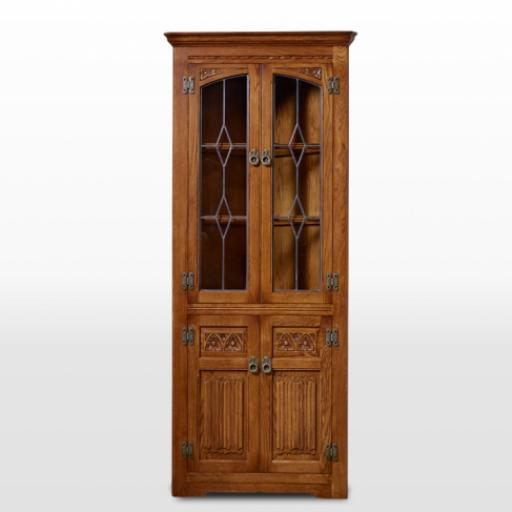 2796 Corner Cabinet Old Charm Furniture - Wood Bros
