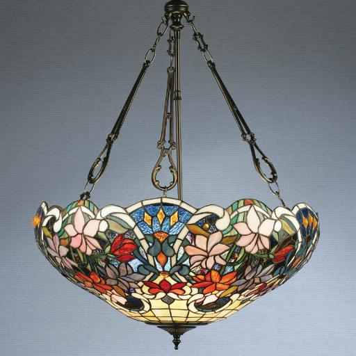 Sullivan 3 Chain Large Pendant - Interiors 1900 Tiffany lighting
