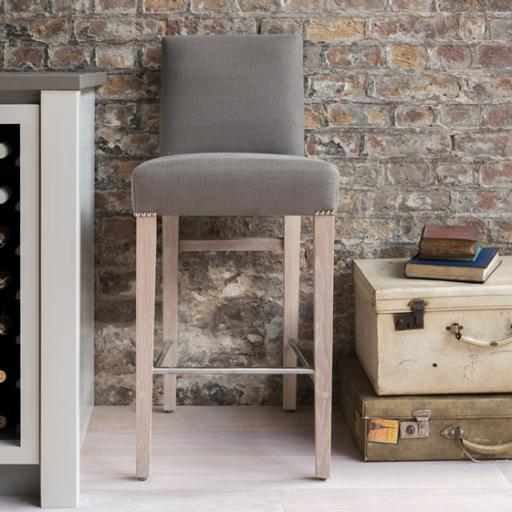 Shoreditch High Back Bar Stool - Neptune Furniture
