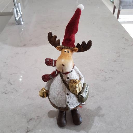 Standing Moose Merlyn 11279 - Flame