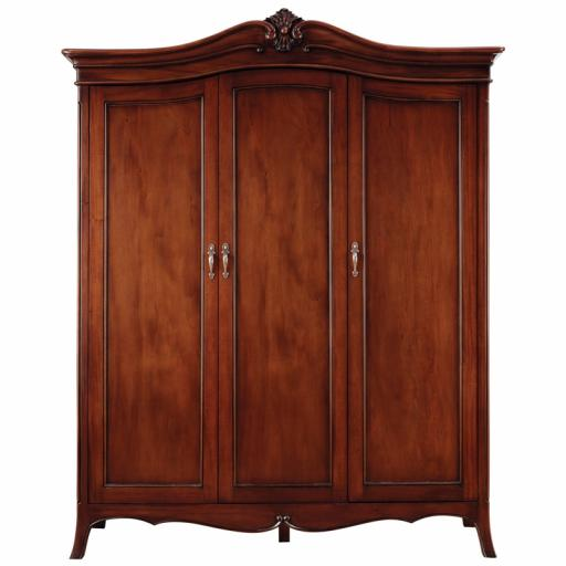Olivia 3 Door Wardrobe - Winsor Furniture WB7GB