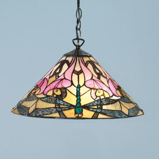Ashton Pendant Light - Interiors 1900 Tiffany Lighting