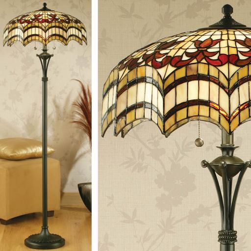 Vesta Floor Lamp - Interiors 1900 Tiffany Lighting