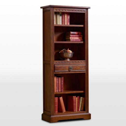 2794 Narrow Bookcase Old Charm Furniture -Wood Bros