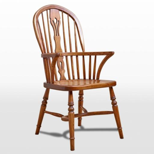 2903 Windsor Armchair - Old Charm Furniture - Wood Bros