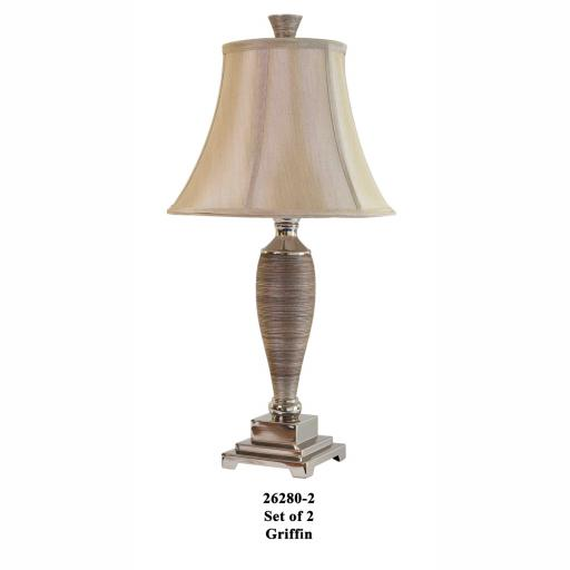 Griffin Lamps (Set of 2) 26280-2 - Mindy Brownes Lighting