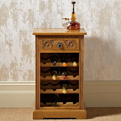 2769 Wine Rack - Old Charm Furniture - Wood Bros