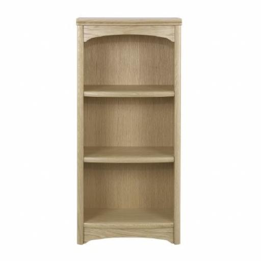 8994 Mid Height Single Bookcase - Nathan Furniture - Editions Oak